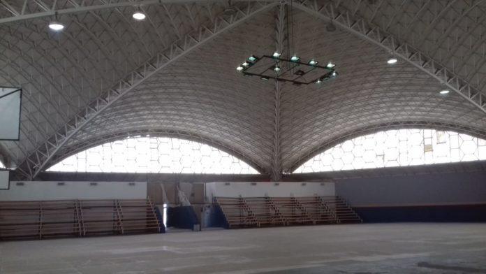 interior polideportivo